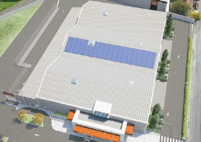 Renforcement bâtiment Brico Cash