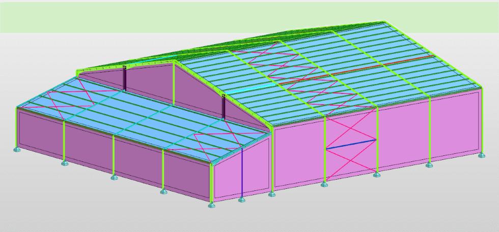 Etude de bâtiment dans le cadre d'un renforcement de structure, par le bureau d'études AMOCER Group